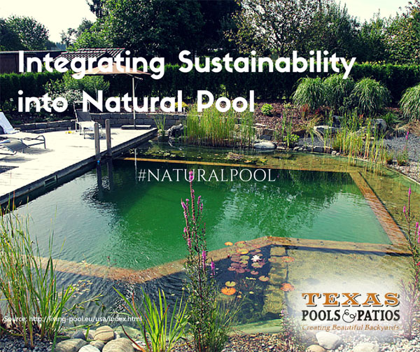 However, The On Going Campaigns For Environmental Awareness Make  Sustainable Swimming Pools Possible. The Natural ...