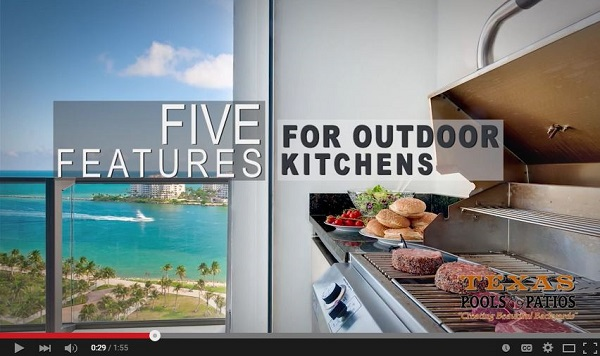 Outdoor Kitchen Must Haves