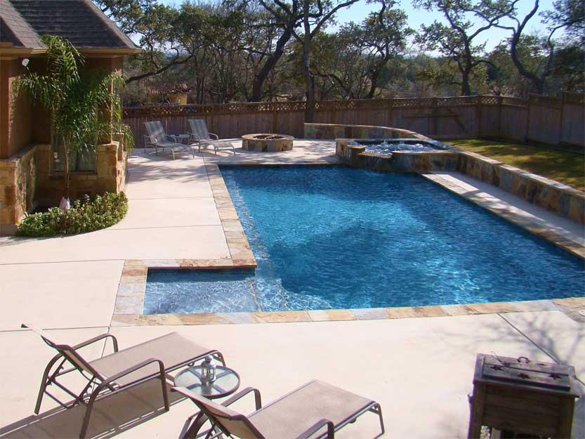 Spring in central texas austin pool builder san antonio for Pool design austin