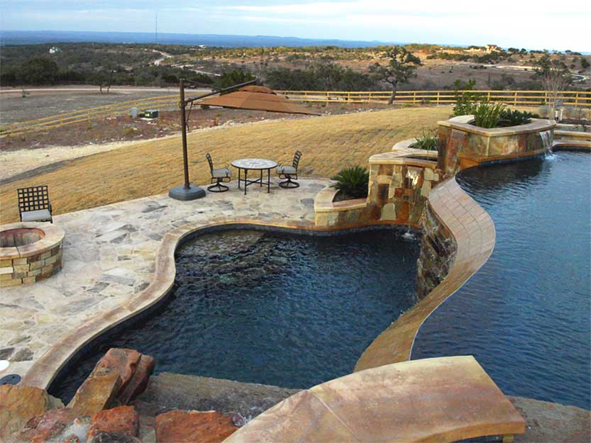 Best pool builder in central texas texas pools patios for Best pool builders